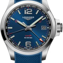 Longines Conquest Steel 41mm Blue