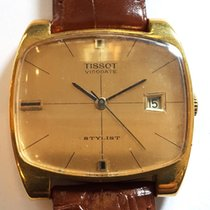 Tissot Silver Manual winding Gold No numerals 34mm pre-owned Stylist