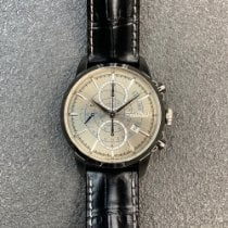 Hamilton Railroad Zeljezo 44mm Srebro
