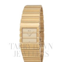 Piaget Polo pre-owned 25mm Champagne Yellow gold