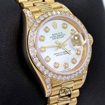 Rolex Lady-Datejust Or jaune 26mm Nacre