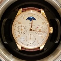 IWC ポルトギーゼ パーペチュアル カレンダー ピンクゴールド 44.2mm シルバー アラビア数字 日本, Tokyo