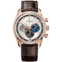 Zenith El Primero Chronomaster nuevo 2021 Automático Cronógrafo Reloj con estuche y documentos originales 18.2043.400/69.C494