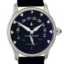 Louis Erard Lady Emotions Stahl Automatik Diamond 36mm