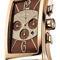 Cuervo y Sobrinos Prominente Red gold 46mm Brown Arabic numerals