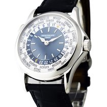 Patek Philippe 5110P World Time 5110 in Platinum - on Black...