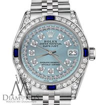 Rolex Datejust Steel 36mm Blue United States of America, New York, New York
