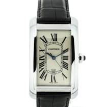 Cartier Tank American White Gold