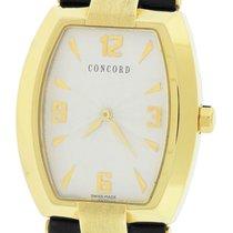Concord La Scala Tonneau 18K Yellow Gold Quartz 50.G3.1480 Watch