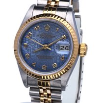 Rolex Oyster Datejust Lady Gold Steel Jubilee Dial 26mm (Full...