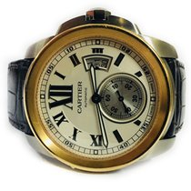 Cartier Calibre de Cartier steel and gold