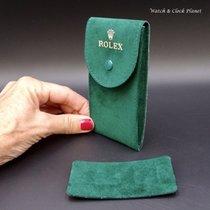 Rolex Genuine Rolex Green Travel Or Service Pouch