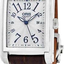 Oris Rectangular 56176574061LS new