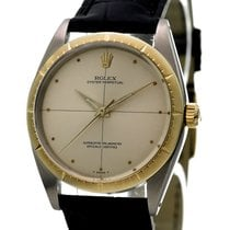 Rolex Vintage Oyster Perpetual Ref-1008 18k Gold Stainless Steel