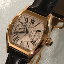 Cartier Tortue occasion 43mm Or rouge