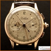 """Breitling Duograph """"Rattrapante"""" Ref 762 Case 18k Rose Gold..."""