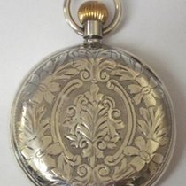 Swiss Hebdomas Silver Full Hunter Pocket Watch