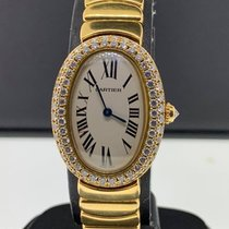 Cartier Baignoire 25mm Blanco Romanos
