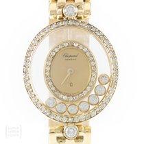 Chopard Uhr Happy Diamonds 750er Gold Brillanten