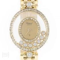 Chopard Happy Diamonds Gelbgold 22mm Gold Deutschland, Weißenbrunn