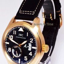 IWC St. Exupery Limited 18k Rose Gold Power Reserve Pilots...
