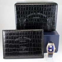 Franck Muller Master Banker 32mm Silver Arabic numerals United States of America, Massachusetts, West Boylston