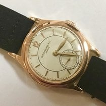 Patek Philippe Ouro rosa 30mm Corda manual 460 usado