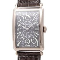Franck Muller White gold Automatic Grey 45mm pre-owned Crazy Hours