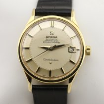 Omega Constellation Or jaune 35mm Argent