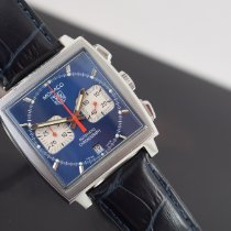 TAG Heuer Monaco Steel 38mm Blue No numerals United Kingdom, skelmersdale