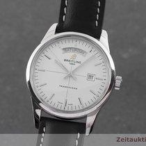 Breitling Transocean Day & Date Stahl 43mm Silber Deutschland, Chemnitz