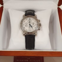 Schwarz Etienne White gold 39mm Manual winding Schwarz Etienne classisc chronograph pre-owned