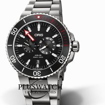 Oris Big Crown ProPilot Day Date Stal 45mm Szary Arabskie