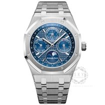 Audemars Piguet Royal Oak Perpetual Calendar Steel 41mm Blue No numerals United States of America, New York, NEW YORK
