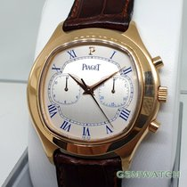 Piaget Red gold Automatic 40mm pre-owned Emperador