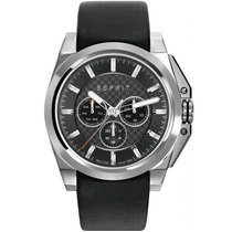Esprit Steel 49mm Quartz ES108711001 new
