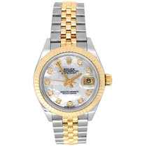 Rolex Lady-Datejust Gold/Steel 28mm Mother of pearl United States of America, California, Los Angeles
