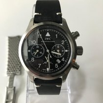 IWC IW3741 Steel Pilot Chronograph 36mm pre-owned