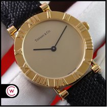 Tiffany Yellow gold 31mm Quartz M0630 pre-owned