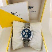 Breitling Chronomat Acier 39mm Bleu Sans chiffres