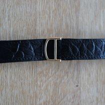Cartier 18 mm YELLOW GOLD faltschliesse deployment clasp w/strap