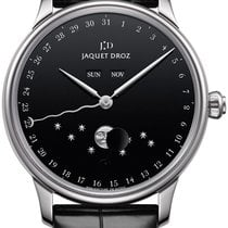 Jaquet-Droz Astrale Сталь 43mm Чёрный