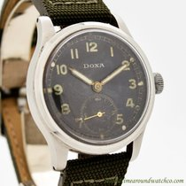 Doxa Steel 34mm Manual winding pre-owned United States of America, California, Beverly Hills