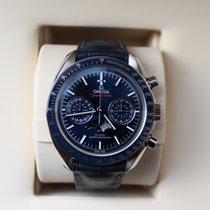 Omega Speedmaster Professional Moonwatch Moonphase Acero 44mm Azul Sin cifras
