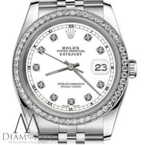 Rolex Lady-Datejust Steel 26mm White No numerals United States of America, New York, New York