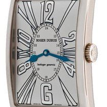 Roger Dubuis M34 57 0 Much More in White Gold - on Tan...