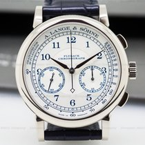 A. Lange & Söhne 414.026 1815 Chronograph 18K White Gold...