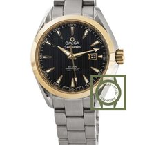 Omega Seamaster Aqua Terra 150 M Co-Axial 34mm Yellow Gold NEW