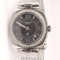 Charriol Alexandre Large with Diamonds and Cable Band