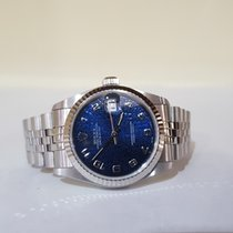 Rolex Lady-Datejust 31mm blue - top condition - warranty 1 year
